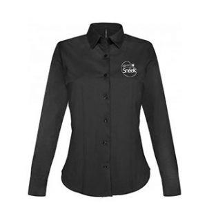 VC Sneek dames blouse zwart