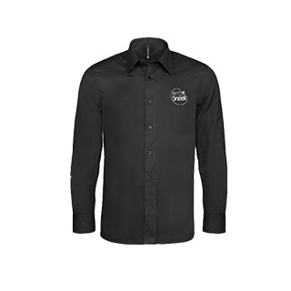 Heren Overhemd Zwart.Heren Overhemd Vc Sneek Shop
