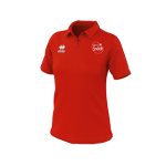 VC Sneek dames polo Shadir rood front