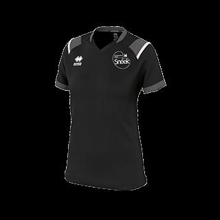 VC Sneek dames t-shirt Lenny zwart front