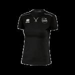 VC Sneek dames t-shirt Marion zwart