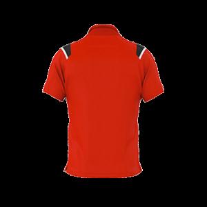 VC Sneek polo Luis rood back