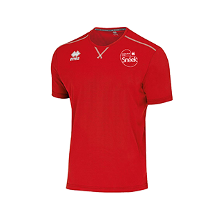 VC Sneek heren t-shirt Everton rood front