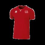 VC Sneek heren t-shirt Professional rood front