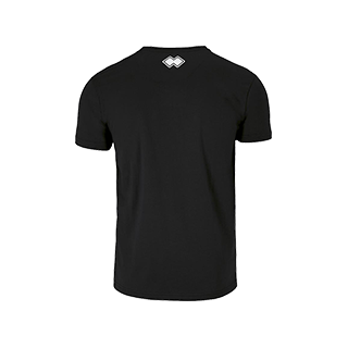 VC Sneek heren t-shirt Professional zwart back