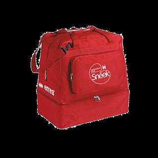 VC Sneek sporttas basic media bag rood