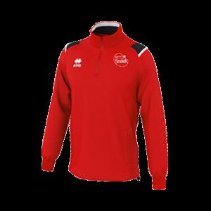 VC Sneek sweater Lars rood front