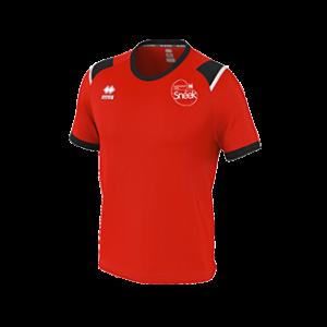 VC Sneek t-shirt Lex rood front